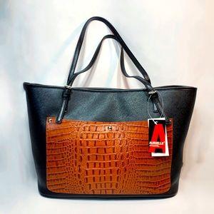 Aurielle Leather by Carryland Satchel